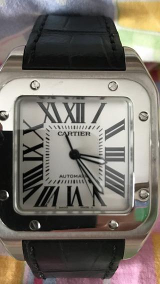 Relógio Cartier Santos 100 Xxl