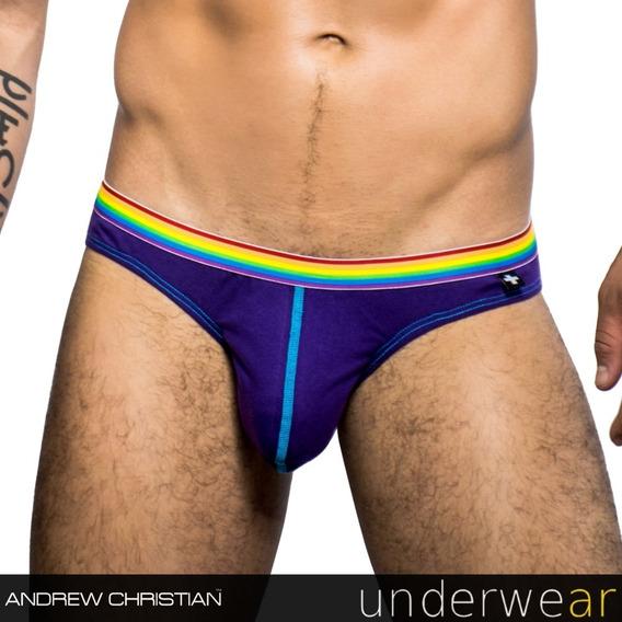 Slip Violeta Andrew Christian Pride 90842