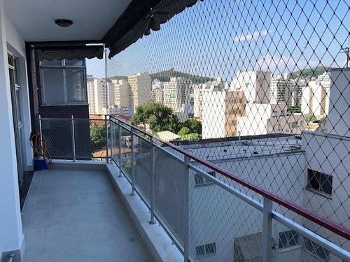 Apartamento Com 3 Dormitórios À Venda, 120 M² Por R$ 700.000,00 - Icaraí - Niterói/rj - Ap31760