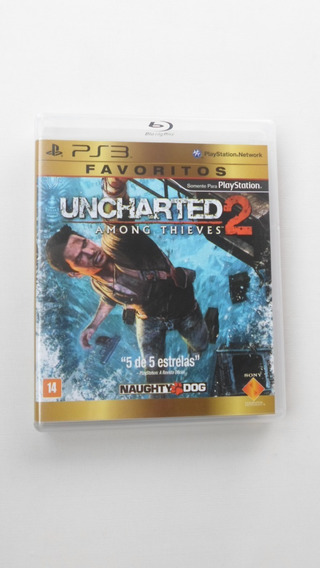 Uncharted 2: Among Thieves - Ps3 Mídia Física