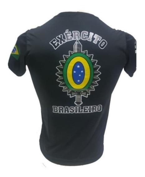 Camiseta Exercito Brasileiro Brasão Com Nota Fiscal