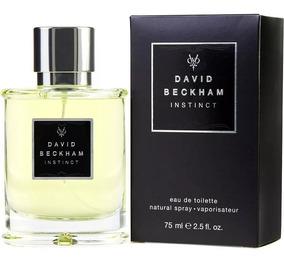 2 Perfumes David Beckham Instinct 75ml Cada ( Importado)