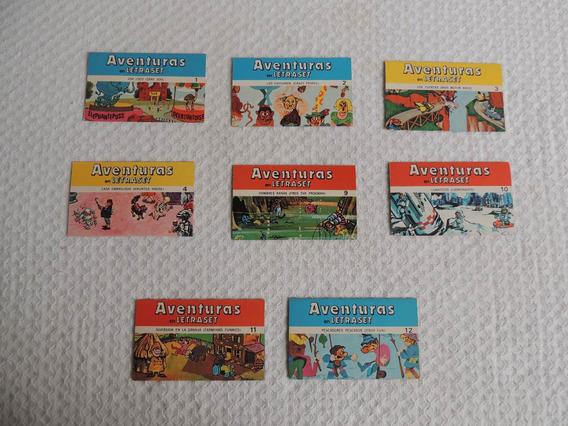 Colección Aventuras En Letraset.suchard.made In England1970.