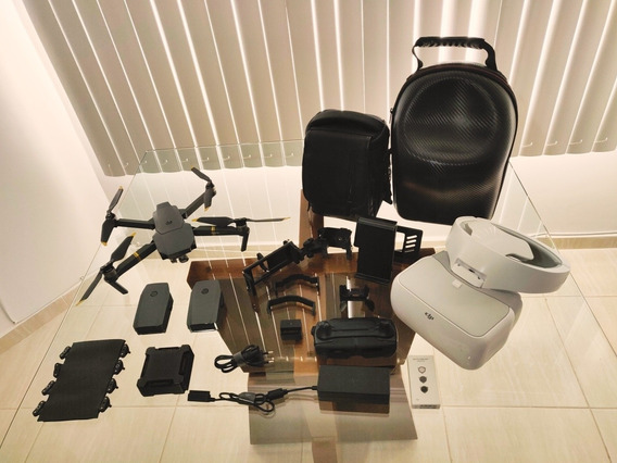 Mavic Pro + Kit Fly More + Dji Goggles + Vários Acessórios