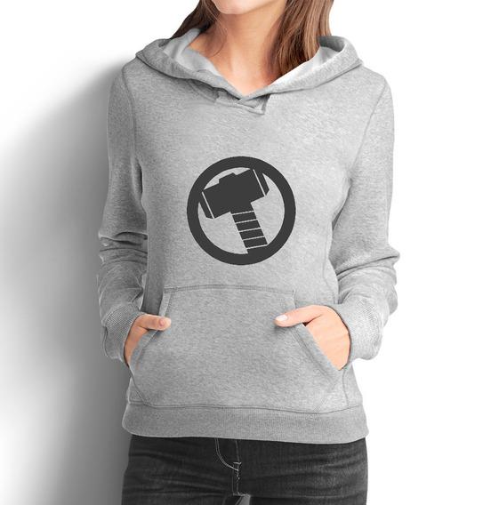 Blusa Moletom Feminino Thor Moleton Camiseta 48