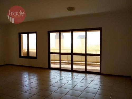 Apartamento Com 4 Dormitórios Para Alugar, 202 M² Por R$ 2.800/mês - Jardim Irajá - Ribeirão Preto/sp - Ap4644