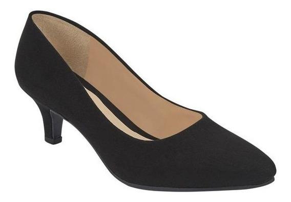 Zapatos De Tacon Para Dama Negro, Amarillo Y Rojo Trr 023221