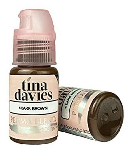 Imagen 1 de 2 de Pigmentos Tina Davies Dark Brown (1/2 Oz) Original