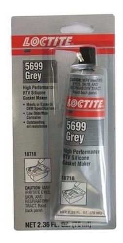Imagen 1 de 5 de Formador De Juntas De Silicona Loctite 5699 Ultra Grey 70 Ml