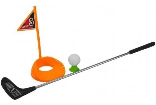 Imagem 1 de 2 de Golf Infantil Taco De Metal Bola De Golf Esportivo