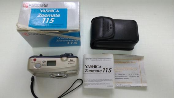 Máquina Fotográfica Yashica Kyocera 115