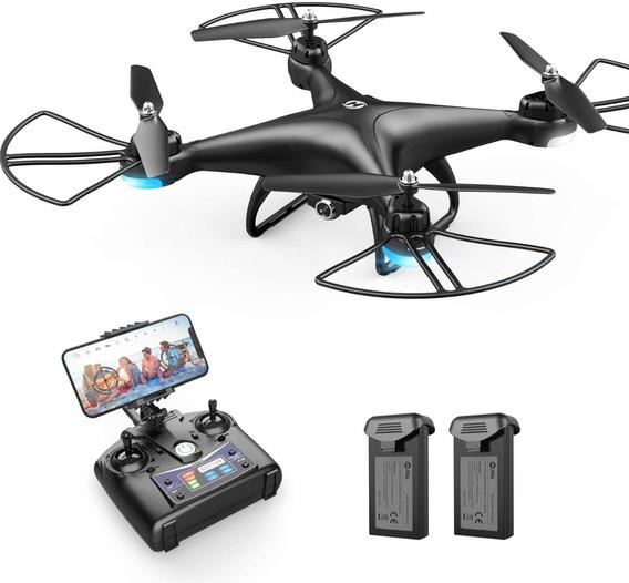 Drone Holy Stone Hs110d Fpv Rc Com Câmera Hd- Pronta Entrega