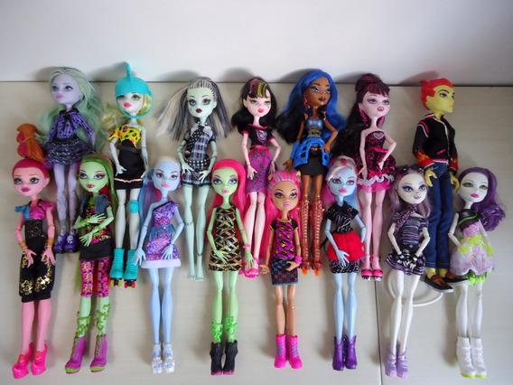 Coleção Monster High Lote 15 Bonecas Kit (01)