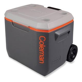 Caixa Termica Coleman Xtreme Cinza C Rodas 50qt 47,3 Litros