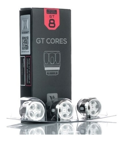 Kit C/3 Bobinas / Coils Gt Cores Gt 8 Vaporesso Revenger