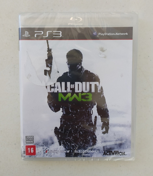 Jogo Call Of Duty - Modern Warfare 3 - Novo - Original - Mw3