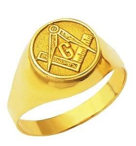 Anel Maçonaria Ouro 18k Da 202 3,20