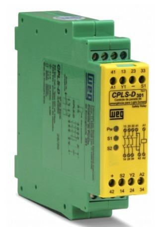 Rele Controle Parada Emergencia Cpls-d301 Weg - 12526241