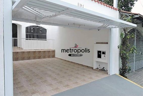 Sobrado Residencial Para Locação, Osvaldo Cruz, São Caetano Do Sul. - So0297