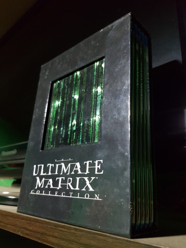 Matrix Ultimate Collection Blu-ray Y Dvd.