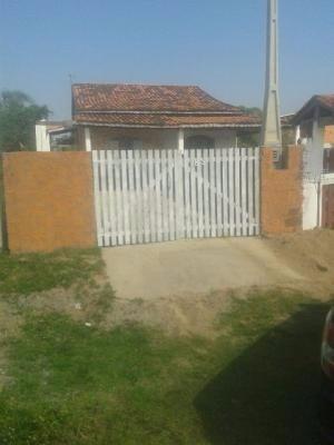Casa Na Praia,com 1 Dormitório.venham Conferir !!