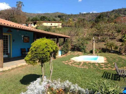 Chácara No Bairro Gamarra,com 30.000 M2 ,  Próximo Cachoeira Do Gamarra , Bela Casa Com Piscina , Vista Maravilhosa. - 352