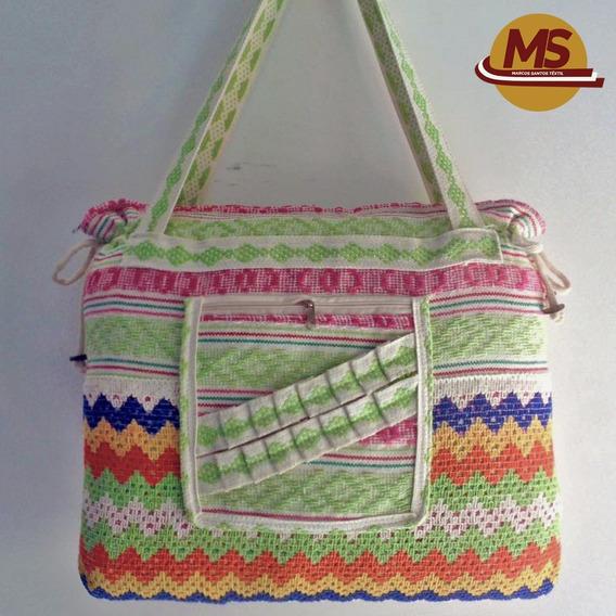 Bolsa Colorida Com Renda Cod:0008