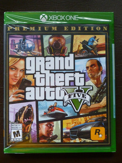 Xbox One Grand Theft Auto V Gta 5 Premium Edition Nuevo