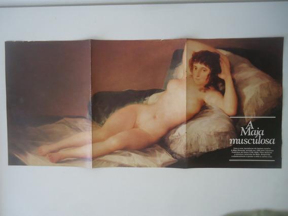 Poster Da Super Interessante A Maja Musculosa