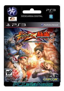 Ps3 Juego Street Fighter X Tekken Pcx3gamers