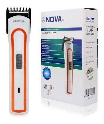 Máquina Nova Corta Cabelo Barba Pezinho Recarregável 12674