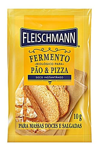 Imagem 1 de 2 de Fermento Biológico Seco Instantâneo Pães Fleischmann 10g