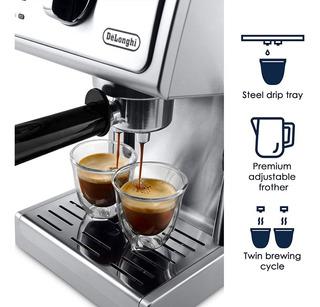 Cafetera Delonghi Ecp3630 15 Bar Bomba Espresso Y Cappuccino