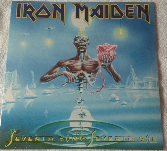 Lp Iron Maiden Seventh Son 180g Lacrado Imp Pronta Entrega