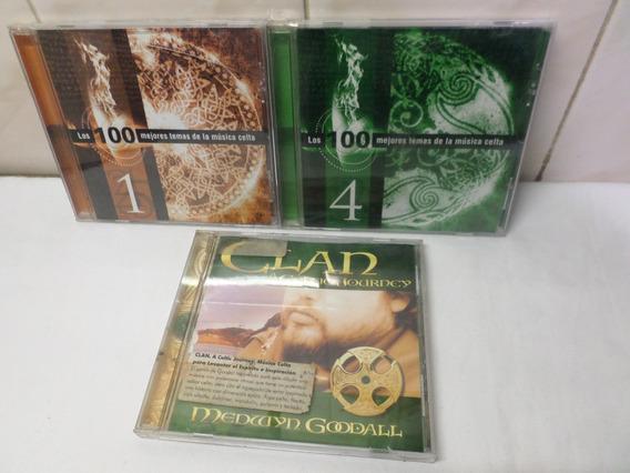 Cds Musica Celta Lote X 3 Clan Medwyn Goodall