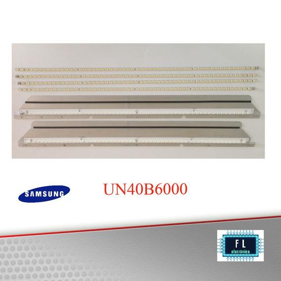 Réguas De Le Tv Samsung Un40b6000; Kit Completo