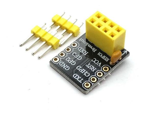 Adaptador Esp8266 Esp-01 Para Protoboard Arduino Wi Fi Esp