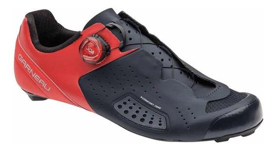 Zapatos Louis Garneau Carbón Ls-100 Lll 9 Usa