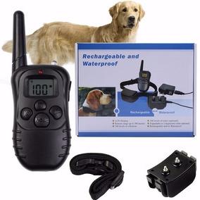 2 Coleiras Adestramento Controle Recarregavel Choque Animais