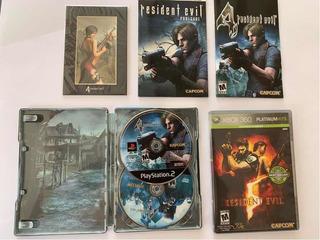 Resident Evil 4 Premium Edition Ps4 Gratis Re 5xbox