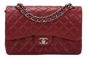 Bolsa Chanel Classic Flap Jumbo 100% Autentica