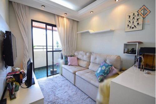 Apartamento Com 3 Dormitórios À Venda, 80 M² Por R$ 690.000,00 - Vila Monumento - São Paulo/sp - Ap46951