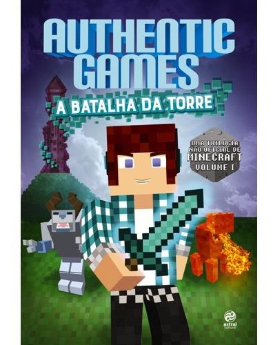 Authentic Games - A Batalha Da Torre Minecraft Jogos