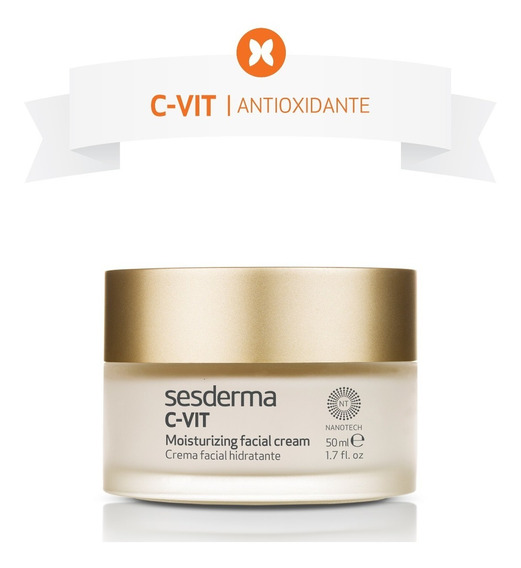 Crema Hidratante Facial C-vit Vitamina C, 50ml, Sesderma