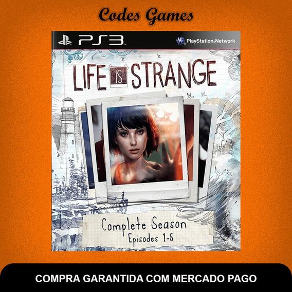 Temporada Completa De Life Is Strange - Ps3 - Envio Ja