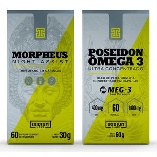 Poseidon Ômega 3 Ultra Concentrado + Morpheus L-triptofano