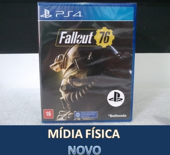 Fallout 76 Ps4 Playstation 4 Ps4 Mídia Física Lacrado