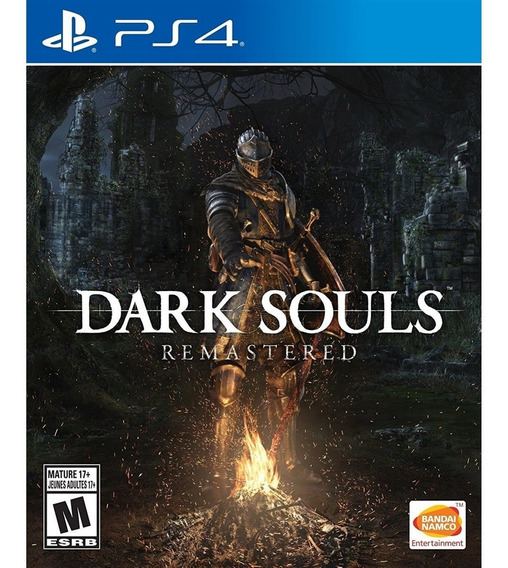 Dark Souls Remastered Ps4 Mídia Física Lacrado