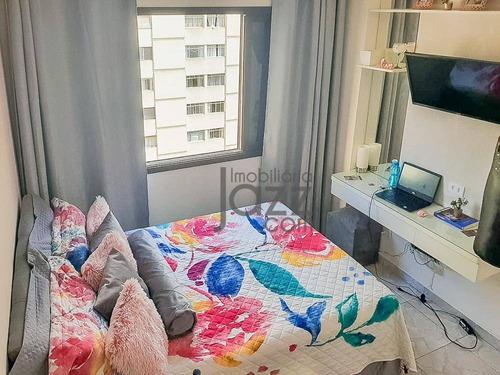 Excelente Apartamento Com 03 Dormitórios Em Santa Cecília - Ap5635