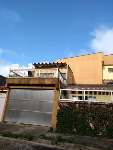 Casa À Venda, 2 Quartos, 1 Suíte, 3 Vagas, Cecília Maria - Santo André/sp - 47571